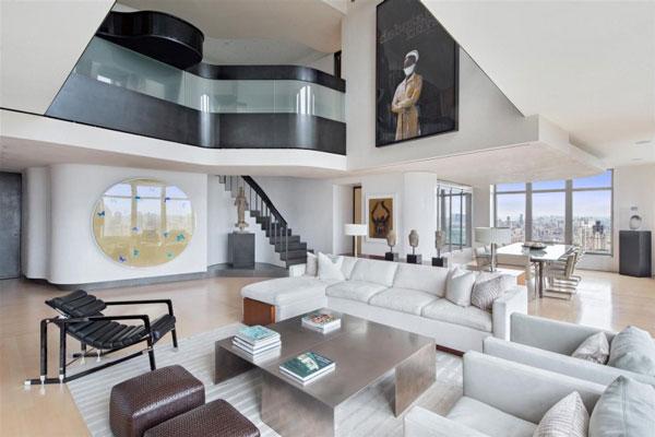 glanzvolles interieur   penthouse von zz architects